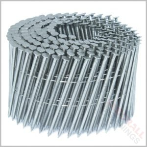 Stainless Steel Coil Nails Ringed Shanked