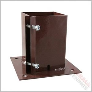 75mm x 75mm fence post anchor