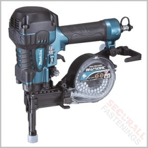Makita AN250HC High Pressure Concrete Steel Coil Nailer