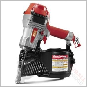 Max HN90 90mm High Pressure Coil Nailer