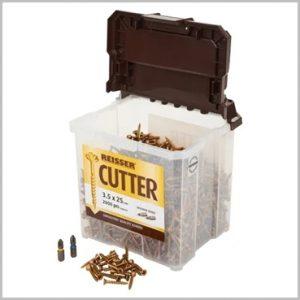 25mm Reisser Cutter Wood Screws
